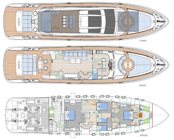 Yacht Plan | Cerri 102