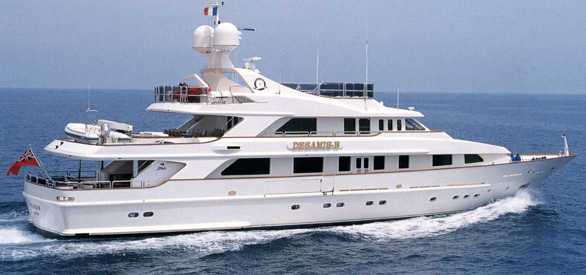 Luxury yacht for Charter | Desamis B by Benetti