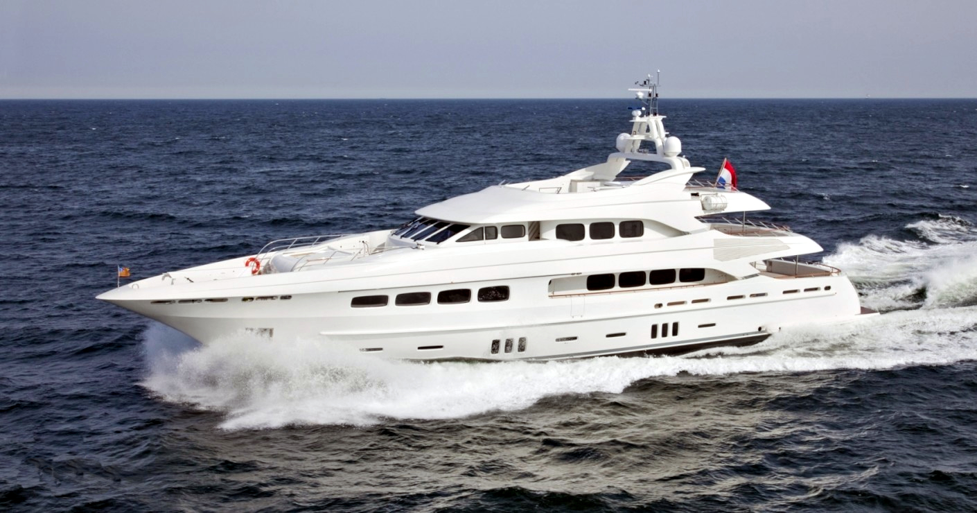 Luxury yacht for Charter | Latitude by Dutch Yacht Builders