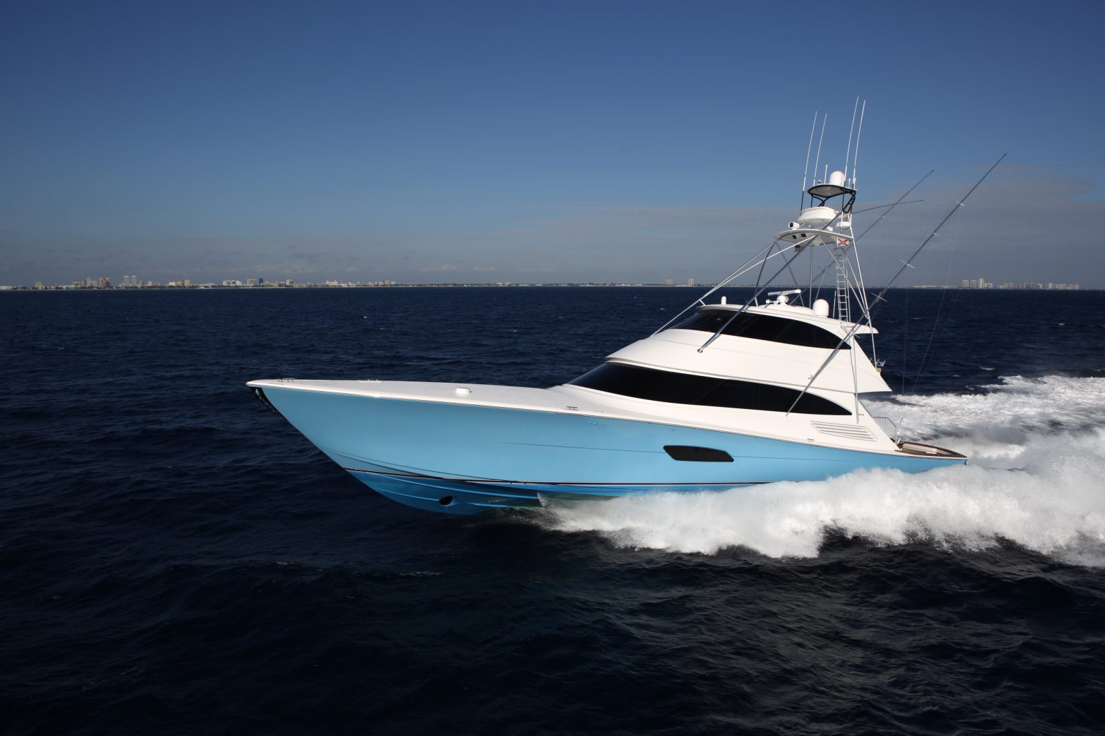 Luxury yacht for Sale | 92 Convertible by Viking Yachts