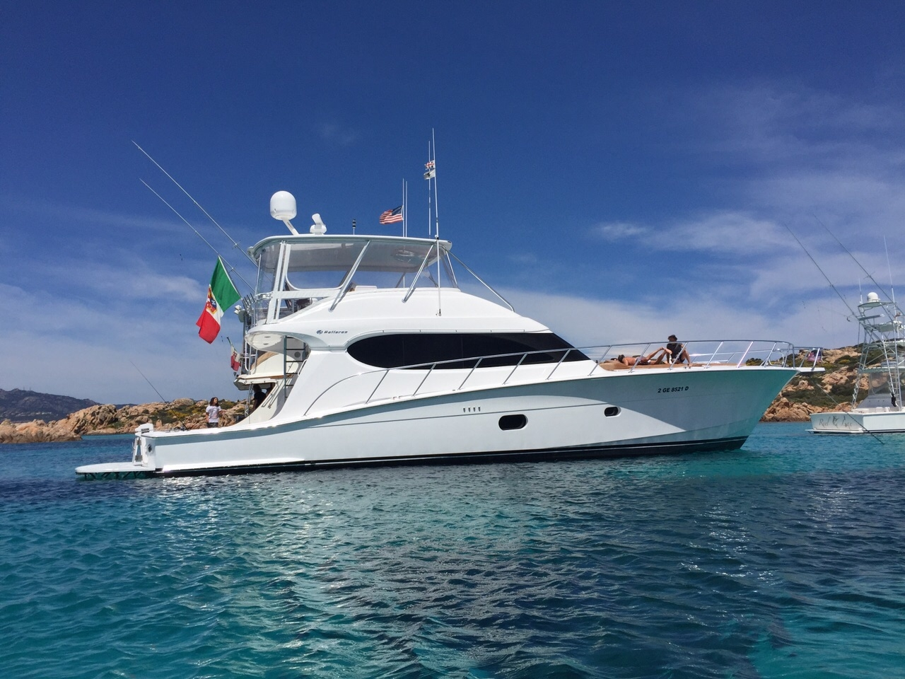 Luxury yacht for Sale   PEWEWE by Hatteras Yachts