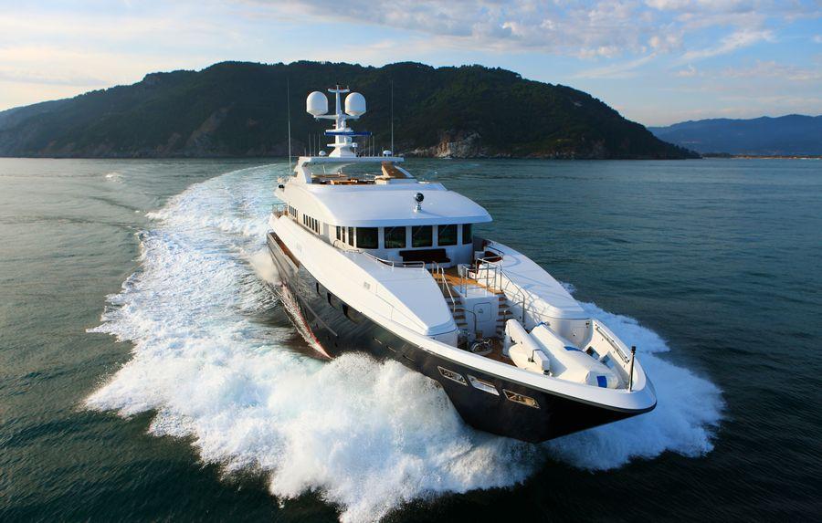 Bow at Cruise   Zaliv III