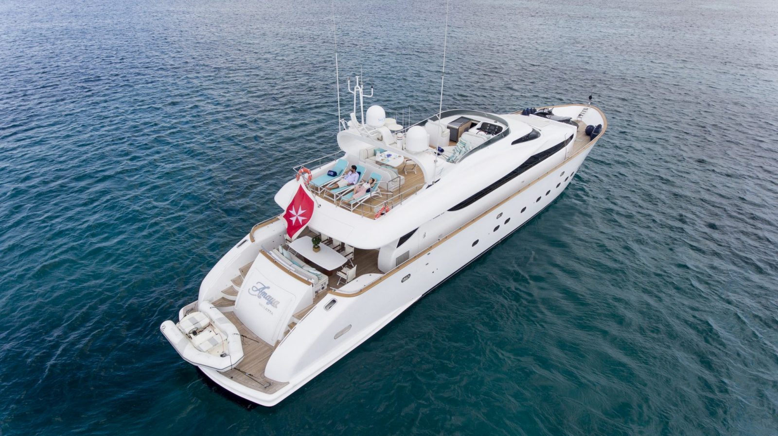 Luxury yacht for Charter | AMAYA by Maiora
