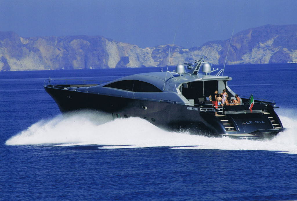 Luxury yacht for Charter | Alemia by Rizzardi Italcraft