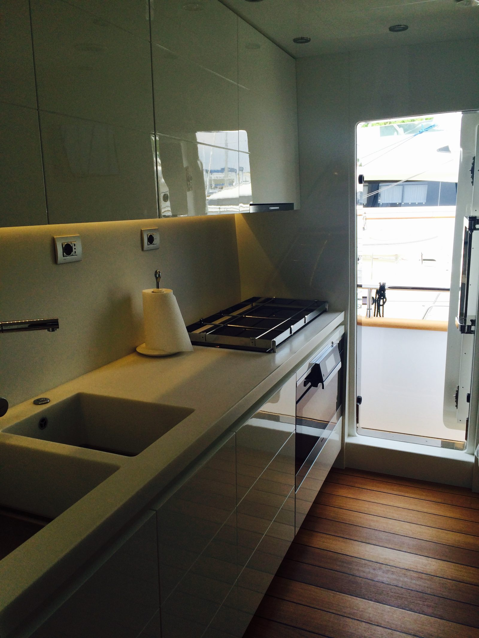 Galley On Main Deck | Miredo